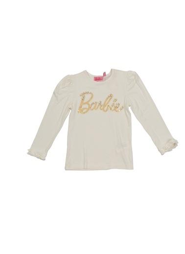 Barbie Tişört Ekru